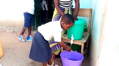 Hand-washing song helping prevent Ebola in DRC